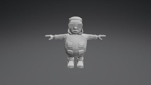 Senile Hunter 3D Model