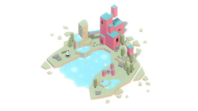 Lost Island 3D Model