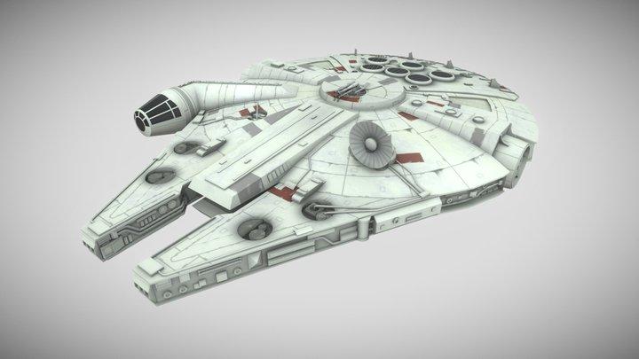 Millennium Falcon - Star Wars 3D Model