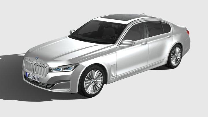 BMW 7-series G12 short 2020 3D Model