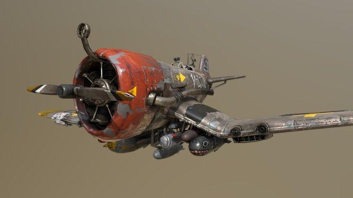 fighter aeroplane 3D Model