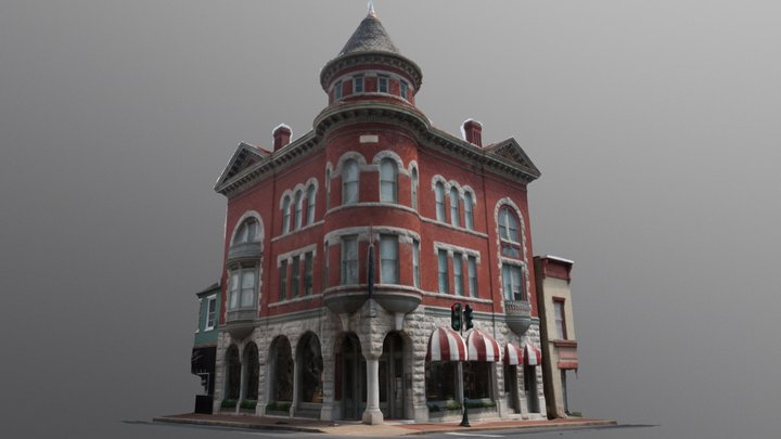 The Marquis Building 3D Model