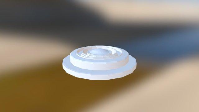 Kristallfassung 3D Model
