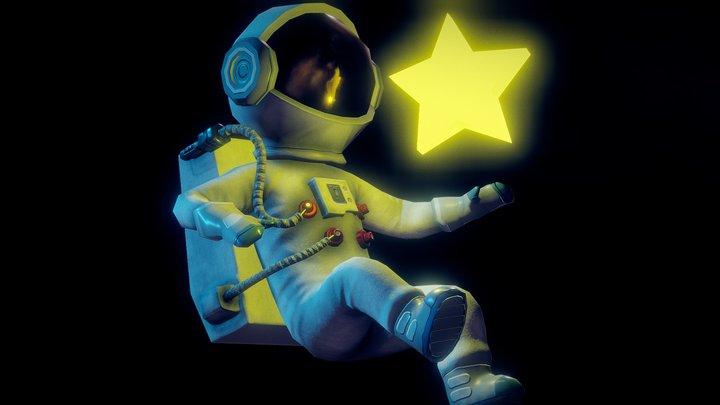 Star Catcher 3D Model
