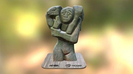 Escultura Carneirinho 3D Model