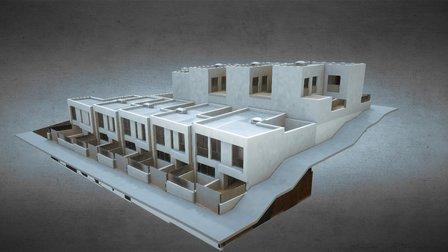 MAYEN Taller de Arquitectura- 9 Viviendas Lucena 3D Model