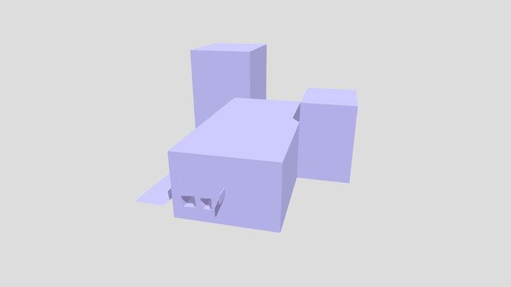 Police 2 Adam Obj 3D Model