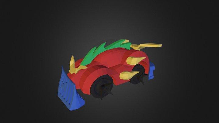 3DRacers - Car Armageddon 3D Model
