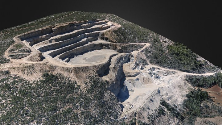 AYC Quarry Model / Adana-Karaisalı #2 3D Model