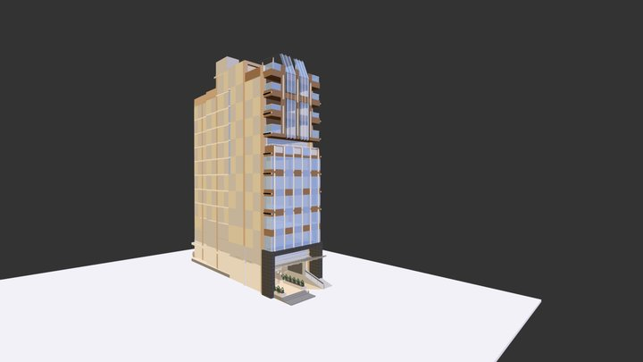 phuong an 7 3D Model