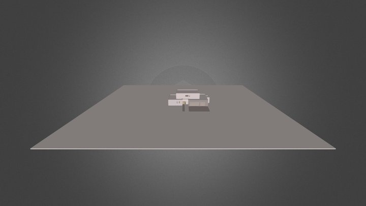 Maison Bunouf - Bunouf House 3D Model
