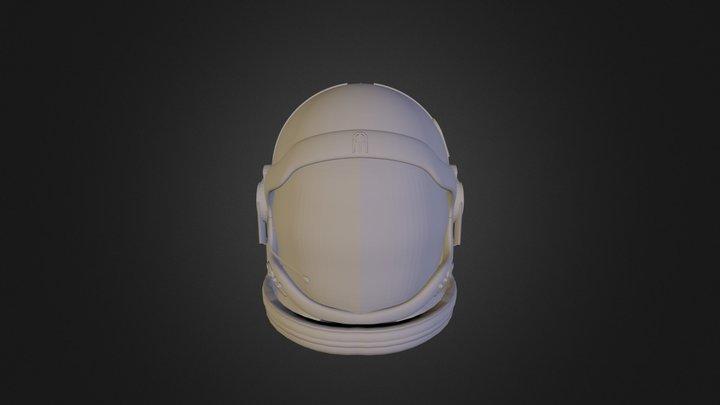 Astro Helmet 3D Model