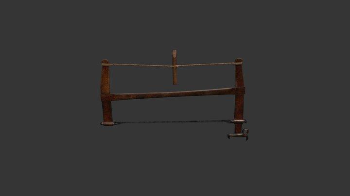medieval saw 3D Model
