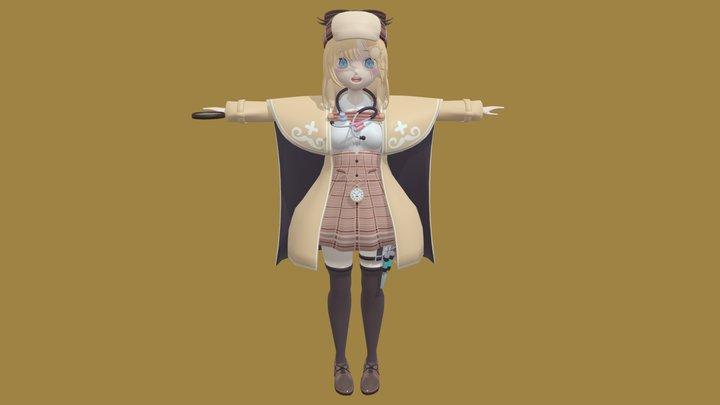 Hololive Watson Amelia 3D Model