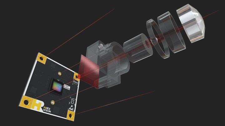 AR1820HS SENSOR 3D Model
