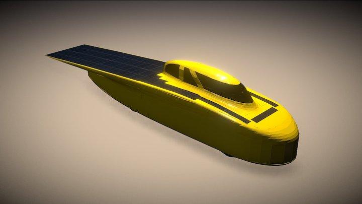 Novum - University of Michigan Solar Car 3D Model