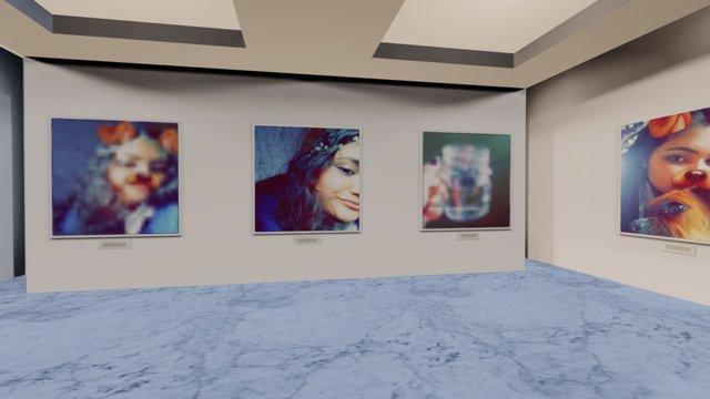 Instamuseum for @Pamelakmpuzano 3D Model