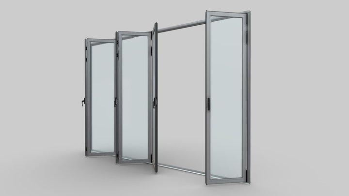 Puerta Plegable K55 3D Model