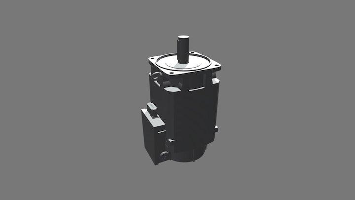Motore Siemens 1PH8133 3D Model