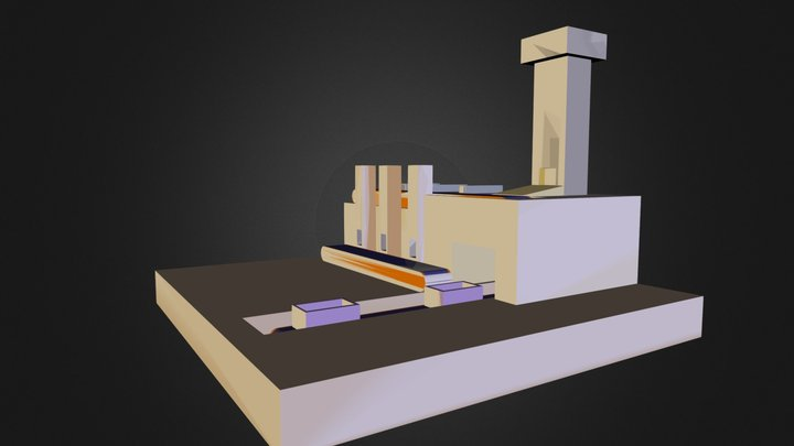 videreudviklingeksamensprojekt.dae 3D Model