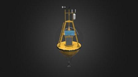 Science Buoy 3D Model