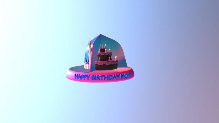 Mombday 2018 3D Model