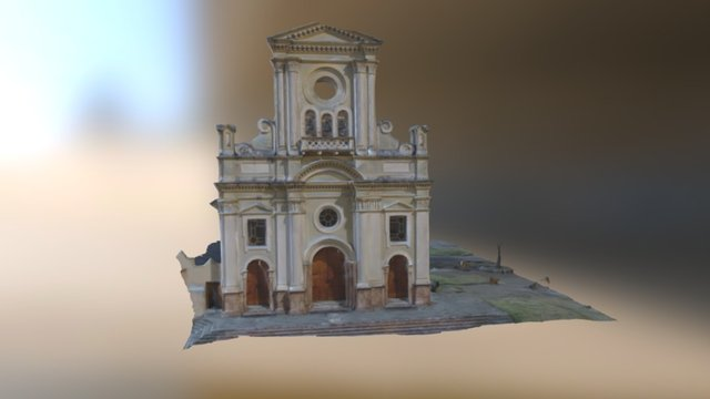 Iglesia San Roque- Autodesk Remake 3D Model