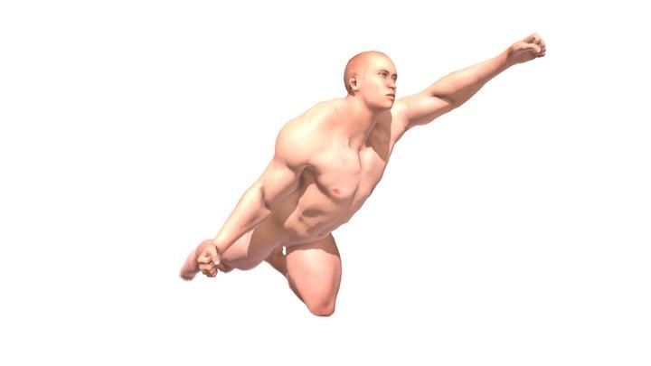 Super Man 3D Model