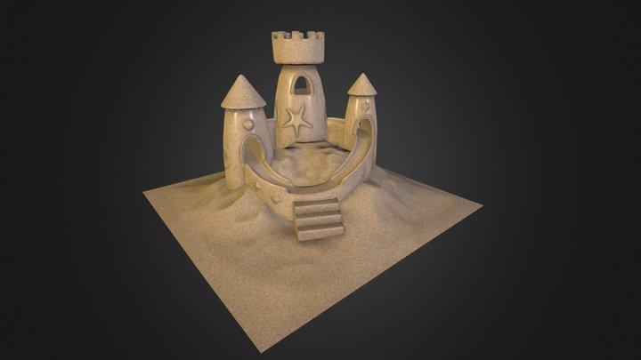 Rip's Sand Castle 3D Model