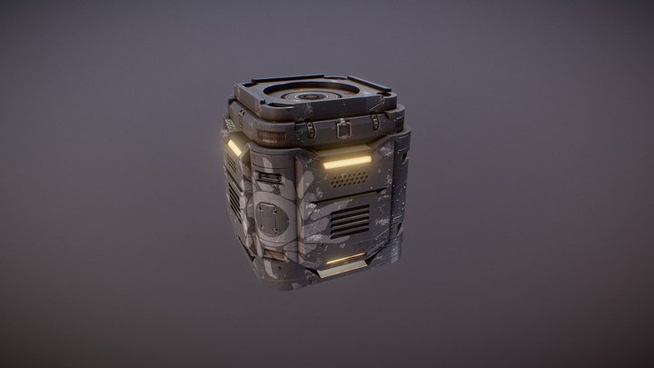 Plex_box_scifi 3D Model