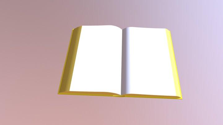 The Golden Book 3D Model