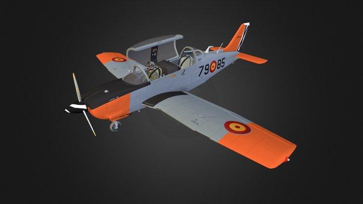 T-35 Aircraft 3D Model