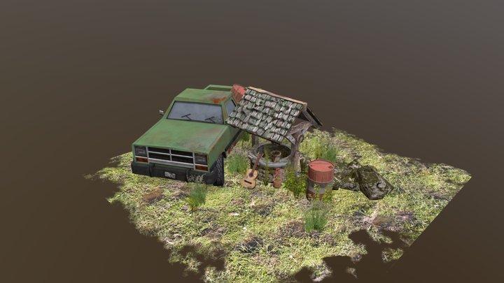 DAE 5 props - Pieter Vanderroost 3D Model