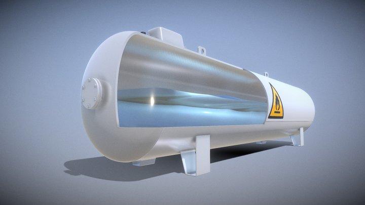 Liquefied Petroleum Gas Tank (Test) 3D Model