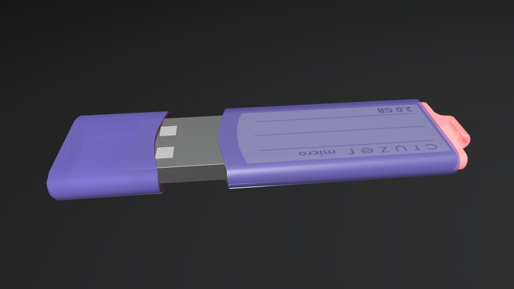 My Pendrive Cruzer 3D Model