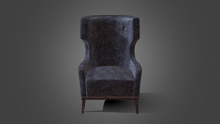 Matis Armchair - Brabbu 3D Model