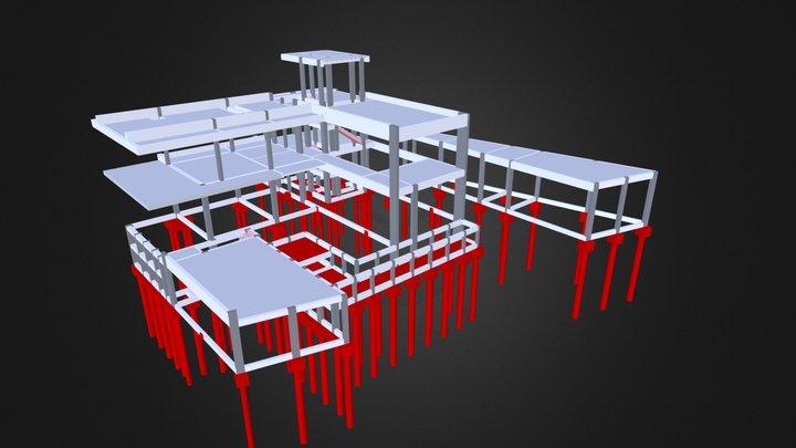 Sobrado - 550 m² 3D Model