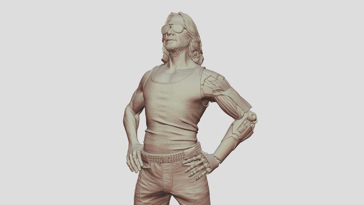Cyberpunk 2077 3D Model