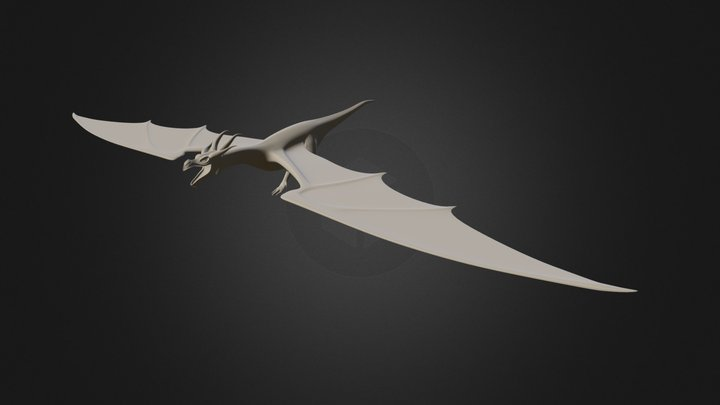 Dragon To Zbrush 001 3D Model