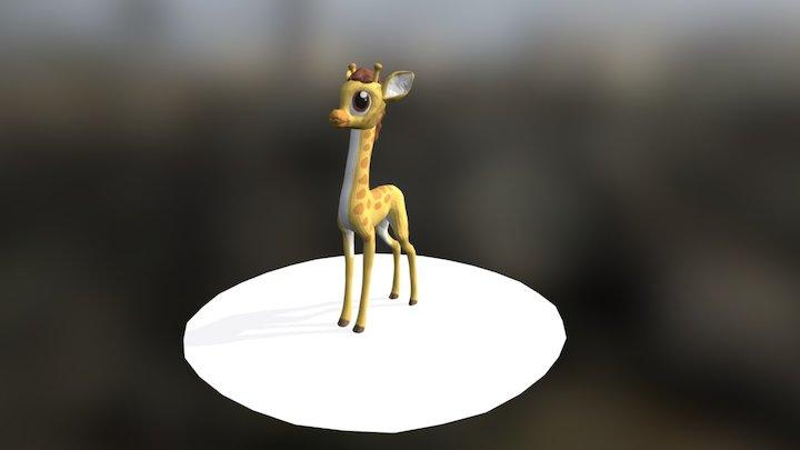 MLP - Gina the giraffe 3D Model