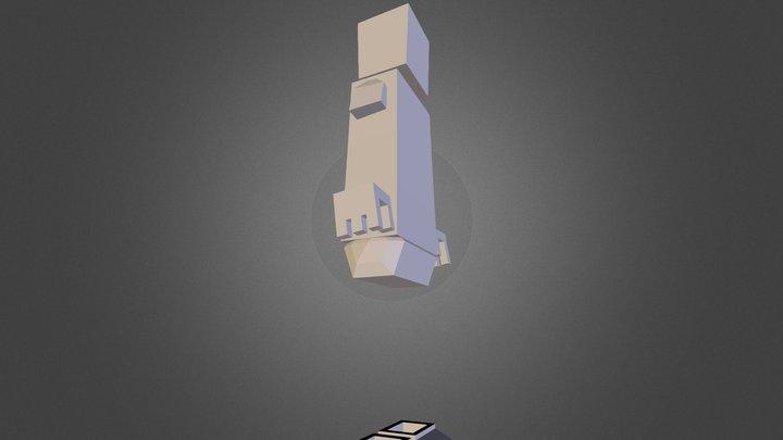 Slender - Blockland 3D Model