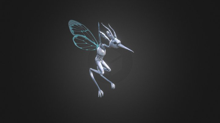 U.R.I.E.L. Robot Avatar 3D Model