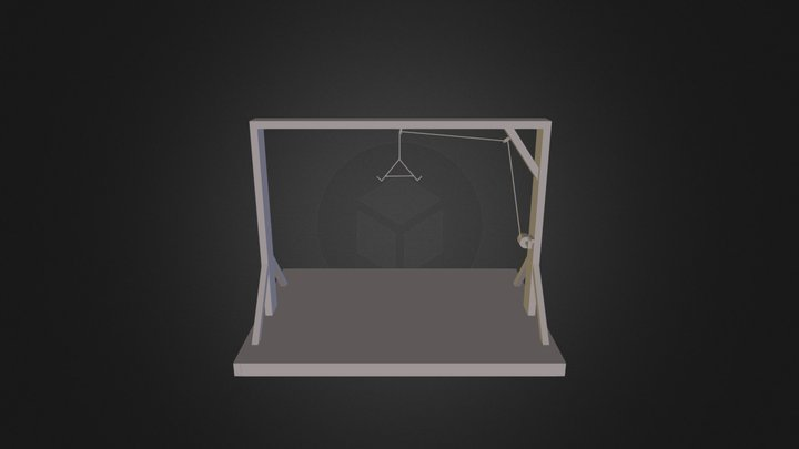 Dad's Tree Stand 3D Model