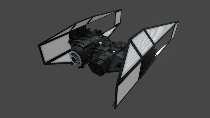 First Order TIE Bomber 3D Model