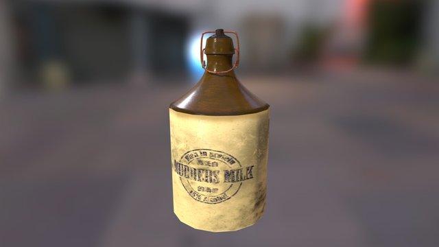 Mudders Milk 3D Model