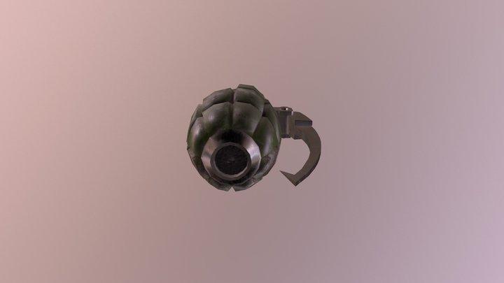 My Hero Academia Bakugou Gauntlets 3D Model