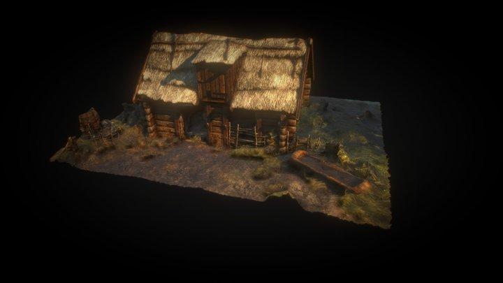 Live ARISE - Witcher Blender 3D Model