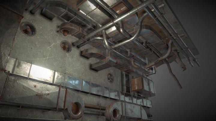 Ventilation System pack 3D Model