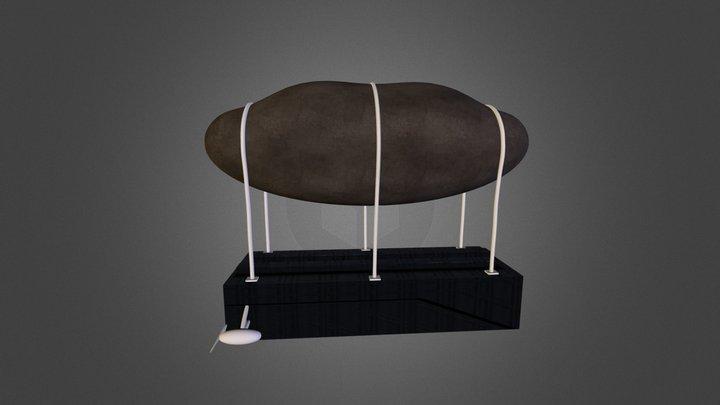 My Blimp 3D Model