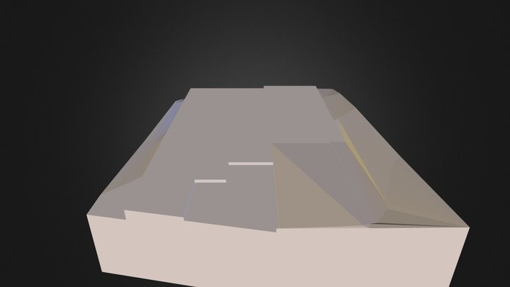 基地 3D Model
